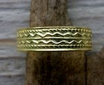 teenring gold plated