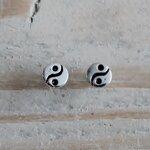 yin yang oorbelletjes