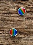oorknopjes regenboog