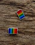 regenboog oorbellen
