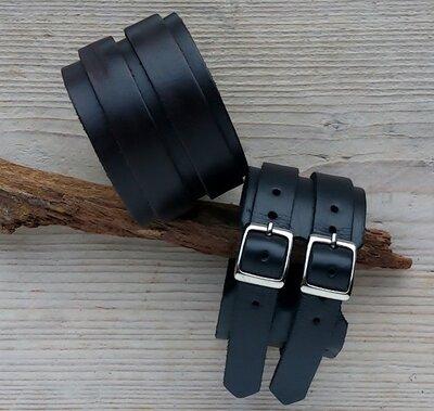 armband leder - ALW302 lengte van 17,5 tot 22,5 cm