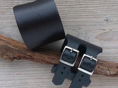 armband leder - ALG101 lengte van 17,5 tot 21 cm