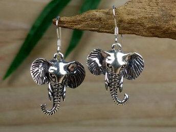 oorbellen olifanten zilver