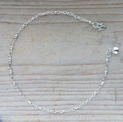 enkelketting zilver