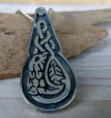 hanger keltisch motief zilver