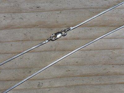 slangenketting - Ø 1,2 mm - lengte 37,5 cm
