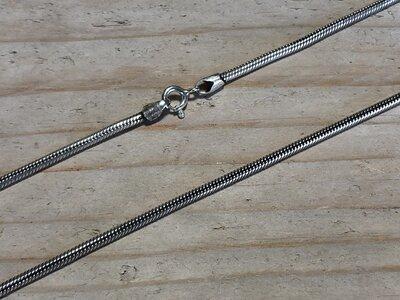 slangenketting - Ø 2 mm-lengte 50-55 cm v.a.
