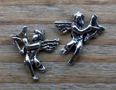 oorknopjes cupido zilver