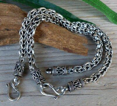 armband 'ziva' zilver