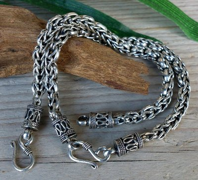 armband 'ziva' zilver lengte 19,5 cm