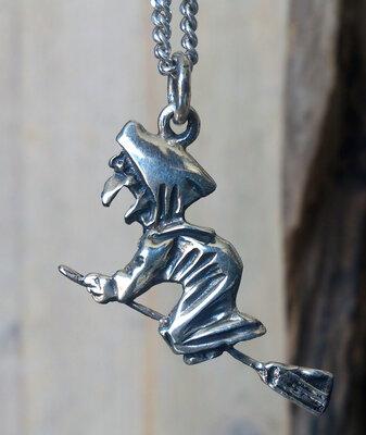 hanger heks zilver