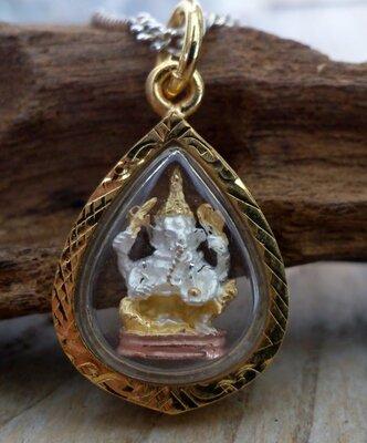 hanger Ganesha goudkleur