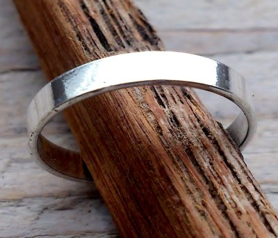 teenring zilver glad 2,5mm (begin-maat 15mm)