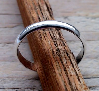 teenring zilver bol 2,5mm (begin-maat 15mm)