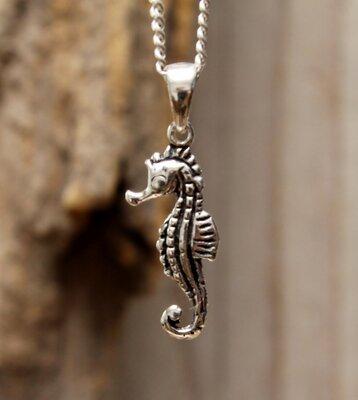 hanger zeepaardje zilver