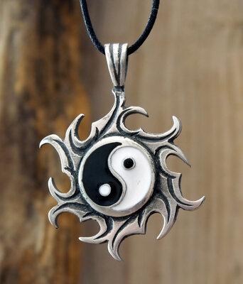 hanger yin yang tin Ø 32mm