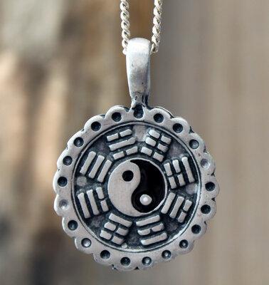 hanger yin yang tin Ø 27mm