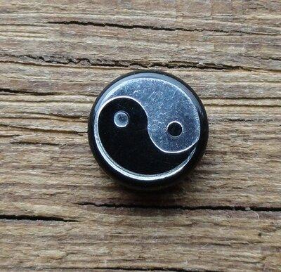 tongpiercing  yin yang Ø 8mm