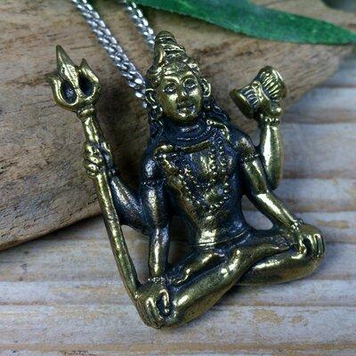 hanger Shiva bronskleur