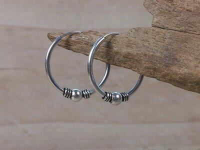 oorringen zilver 1,5 mm dik - Ø 20 mm