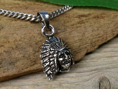 hanger indiaan zilver