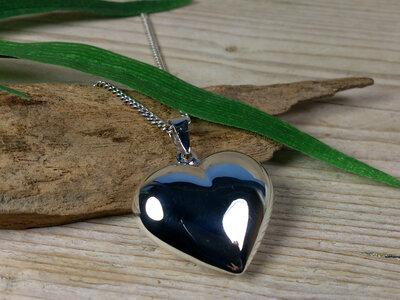 hanger hart zilver