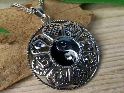 hanger yin yang ashtamangala Ø 29mm