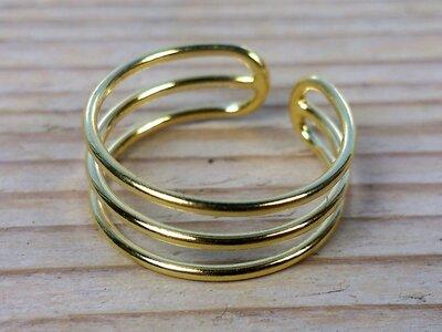 teenring goud-op-zilver (begin-maat 15mm)