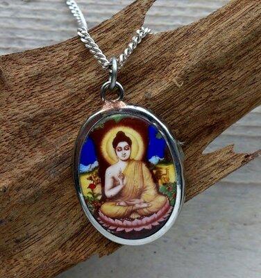 hanger Boeddha keramiek