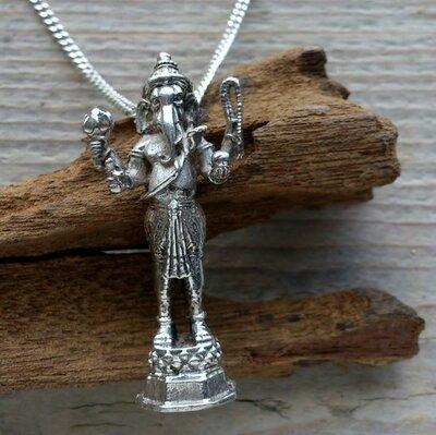 hanger Ganesha zilver