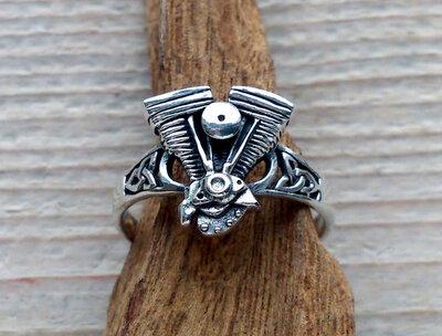 ring motorblok zilver v.a.