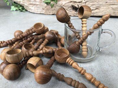 houten lepeltje