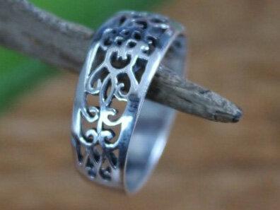 dames ring zilver