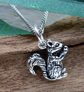 hanger eekhoorn zilver