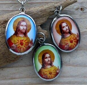 hanger Jezus keramiek