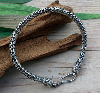 armband 'thor' zilver