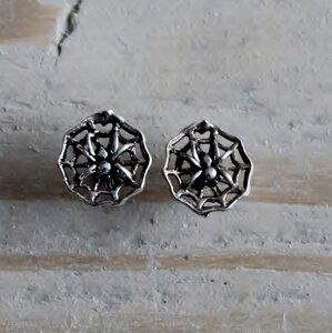 oorstekers spin zilver