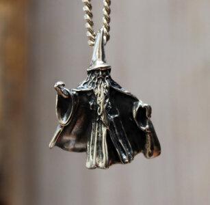 hanger tovenaar zilver