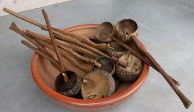 kokosnoot lepel