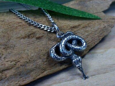 hanger slang zilver