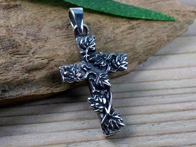 hanger kruis zilver