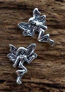 oorknopjes tinkerbell zilver