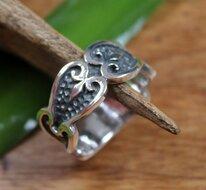 brede ring zilver