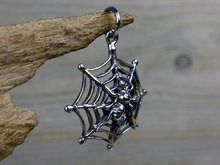 zilveren spin hanger