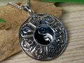 zilveren yin yang sieraad